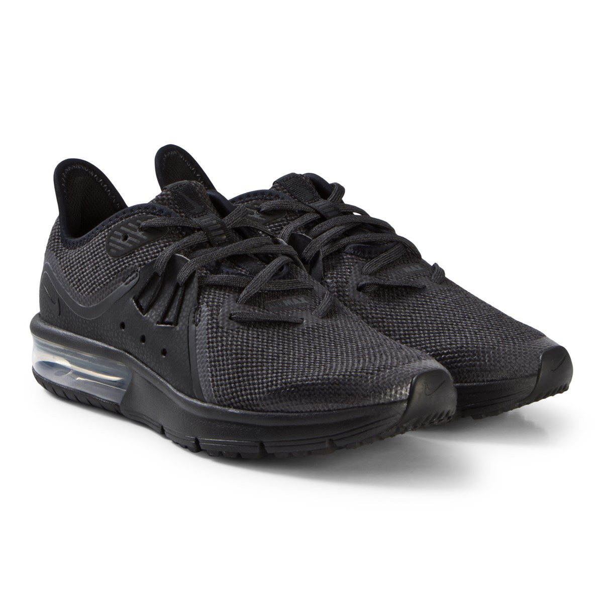 official photos ef871 07bc2 black nike air max sequent 3 running shoe