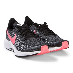 NIKE Black and Pink Nike Air Zoom Pegasus 35 Running Trainers