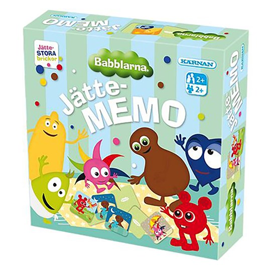 Babblarna Giant Memory Game Blue