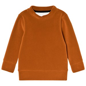 Image of Caroline Bosmans Hairy Neoprene Sweater Velvet Orange 2 år (3056080513)