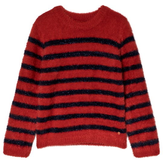 IKKS Striped Sweater Red/Navy 38