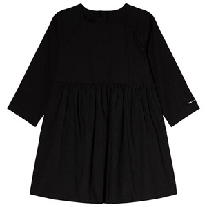 Image of Little Creative Factory Black Crinkled Long Sleeve Dress 12 years (3065520985)