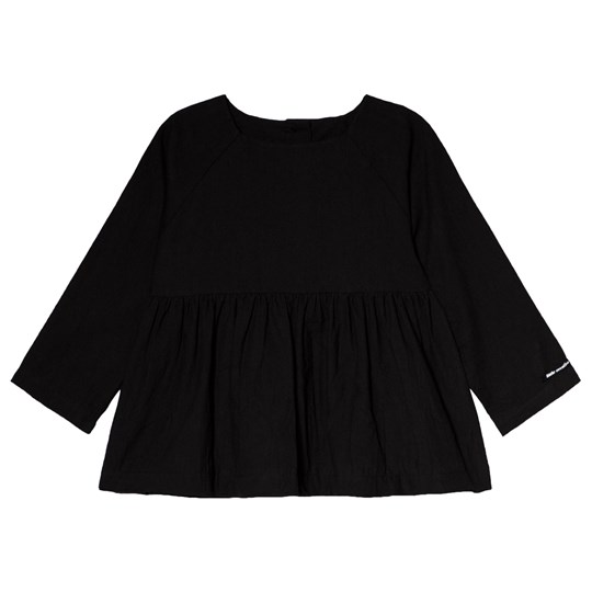 Little Creative Factory Black Crinkled Top Black