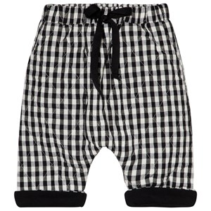 Image of Little Creative Factory Black and White Check Baby Pants 12 months (3056078027)