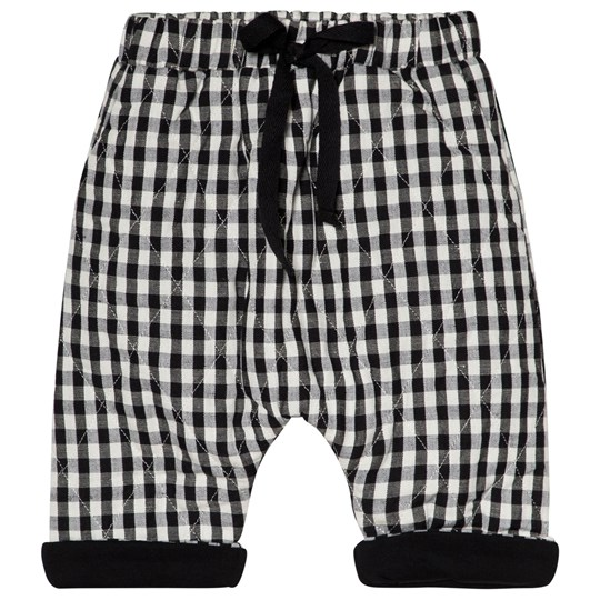 Little Creative Factory Black and White Check Baby Pants CHECKED