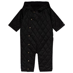 Image of Little Creative Factory Black Quilted Footless Coverall 6 months (1124267)