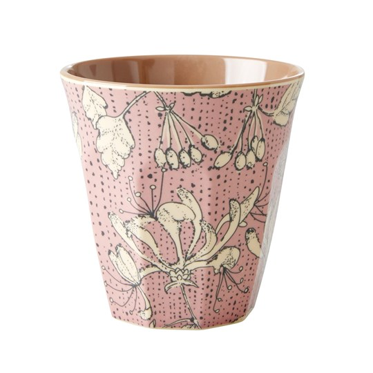 Rice Medium Melamine Cup Wild Chervil