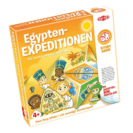 Tactic Egyptian Expedition Story Game Oranssi