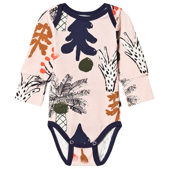 Papu Hidden Forest Baby Body Pink Multicolor
