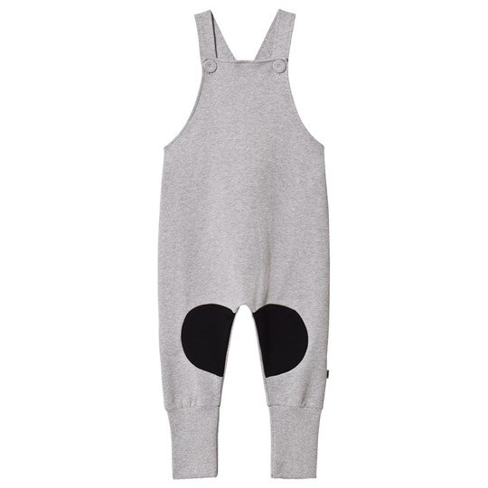 Papu Patch Overalls Grey Black