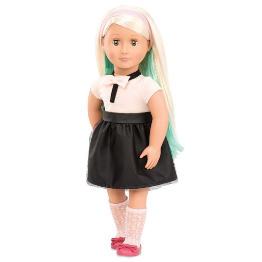 """Our Generation Amya™ """"With Flying Colors"""" Doll 46 cm Black"""