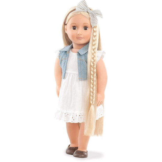 """Our Generation Phoebe™ """"From Hair To There"""" Doll 46 cm White"""
