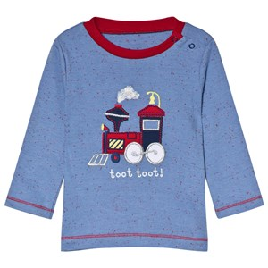 Image of Hatley Blue Toy Train Tee 9-12 months (3056073801)