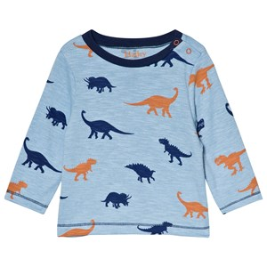 Image of Hatley Blue Dino Silhouettes Tee 12-18 months (3056073857)