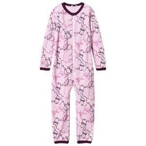 Image of Joha Woolly One-Piece Pink 60 cm (2-4 mdr) (3056107911)