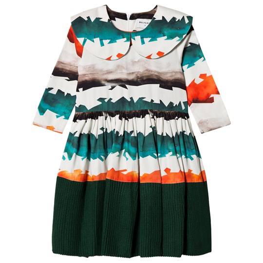 Wolf & Rita Palmira Dress Watercolor Stripes Watercolor Stripes