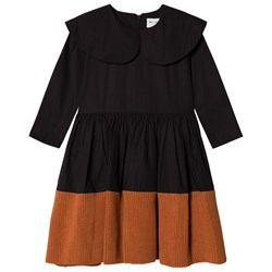 Wolf & Rita Palmira Dress Black Orange