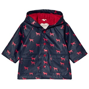Hatley Navy Red Labs Baby Raincoat 18-24 months