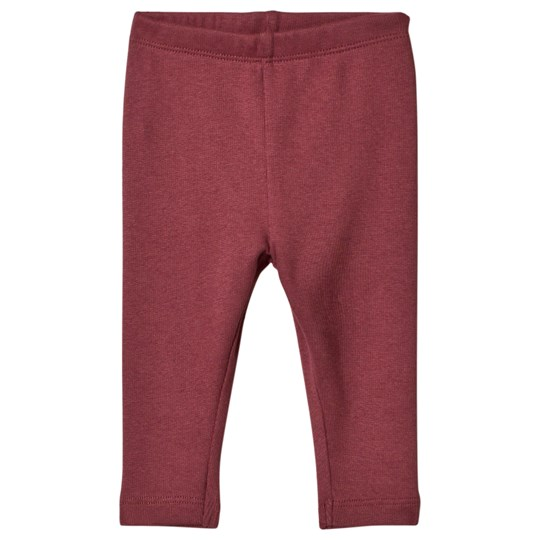 Wheat Ribbed Baby Leggings Soft Plum Soft Plum