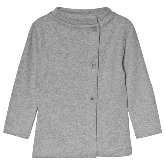 Gray Label Button Cardigan Grey Melange Grey Melange