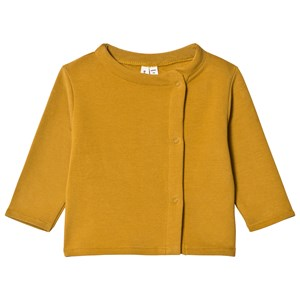 Image of Gray Label Baby Button Cardigan Mustard 3-6 mdr (3056068197)
