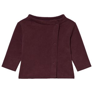 Image of Gray Label Baby Button Cardigan Plum 3-6 mdr (3056068213)