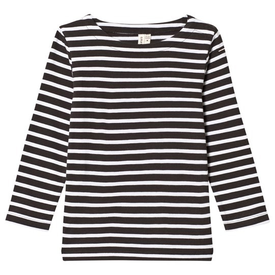 Gray Label Long Sleeve Striped Tee Nearly Black/White Stripe NEARLY BLACK/WHITE STRIPE