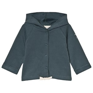 Image of Gray Label Baby Hooded Cardigan Blue Grey 1-3 mdr (3056068261)