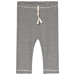 Image of Gray Label Baby Leggings Nearly Black/Cream Stripe 1-3 mdr (3056067833)