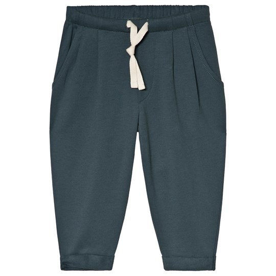 Gray Label Pleated Pants Blue Grey BLUE GREY