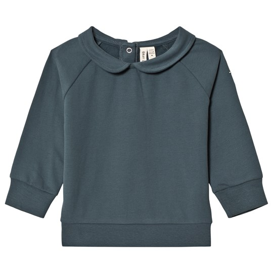 Gray Label Collar Sweater Blue Grey BLUE GREY
