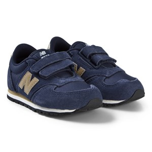 Image of New Balance Navy Velcro Sneakers 35 (UK 2.5) (3125271439)