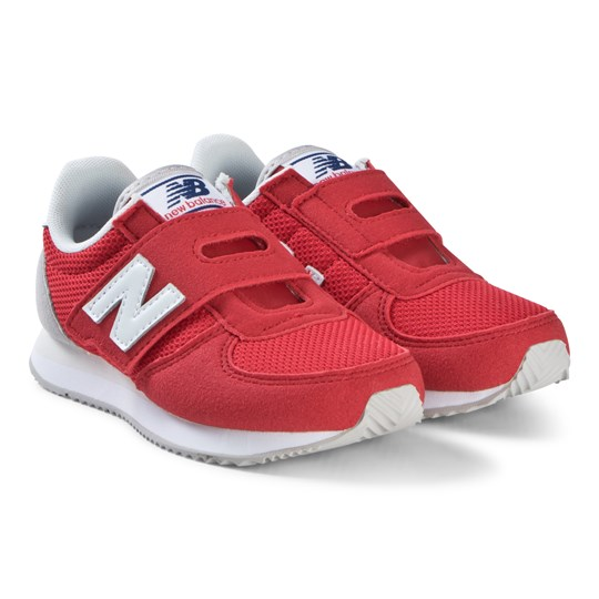 New Balance Alpha Red and White Sneakers 620