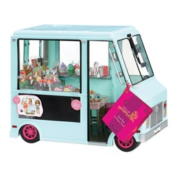 Our Generation Sweet Stop Ice Cream Truck Blue