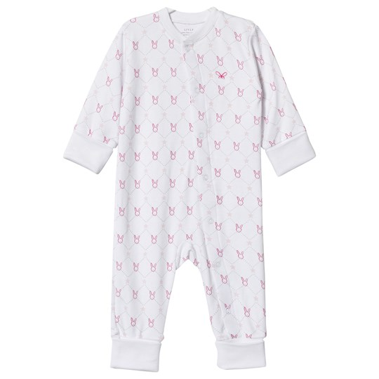 Livly One-Piece Pink Diamond Bunny Pink Diamond Ribbon Bunny
