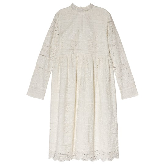 Bonpoint Cream Broderie Anglaise Dress 002