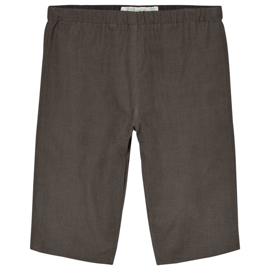 Bonpoint Grey Cord Pull Up Pants 062A