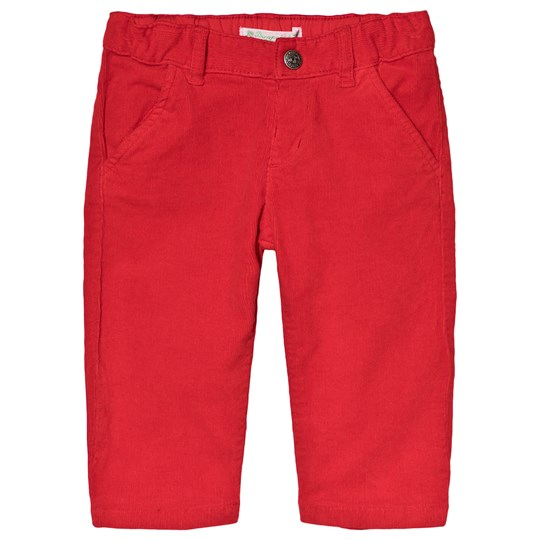 Bonpoint Red Cord Pants 051
