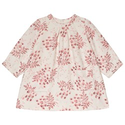 Bonpoint Cream and Pink Floral Dress