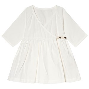 Image of Little Creative Factory White Baby Horizon Wrap Dress 24 months (3056078063)