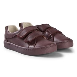 Clarks City Oasis Infant Shoes Burgundy Leather
