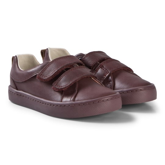 Clarks City Oasis Infant Shoes Burgundy Leather Burgundy Leather