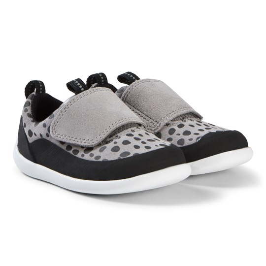 Clarks Play Spark Shoes Grey Suede Grey Suede