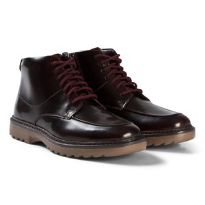 Image of Clarks Asher Street Boots Red Patent 37.5 (UK 4.5) (1207619)