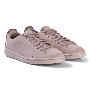 Image of Clarks Nate Lace Sneakers Pink Nubuck 32.5 (UK 13.5) (1208177)