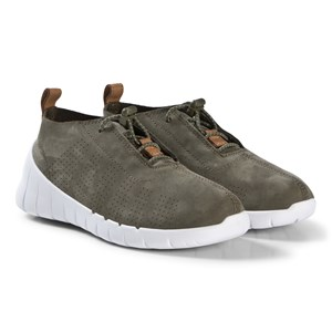 Image of Clarks Sprint Elite Sneakers Green Nubuck 32 (UK 13) (1208105)