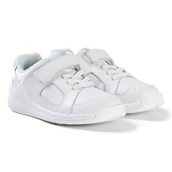 Clarks Orbit Ride Sneakers White Leather