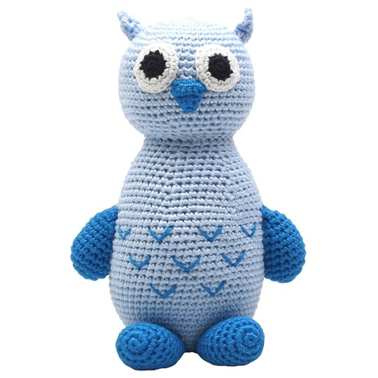natureZOO Owl Teddy Bear Blue