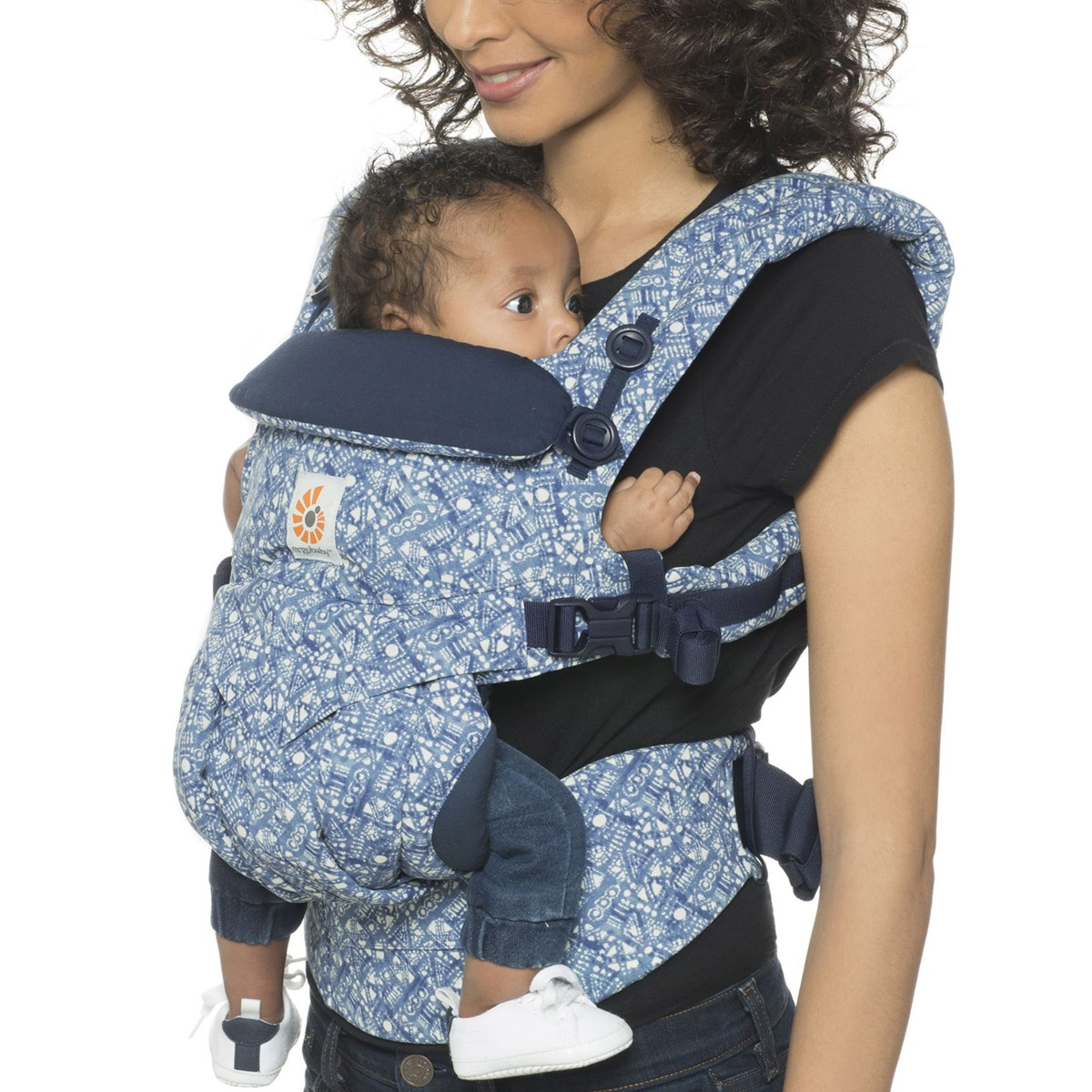 7a7f6109c2d Ergobaby - Omni 360 All-in-One Baby Carrier Batik Indigo - Babyshop.com