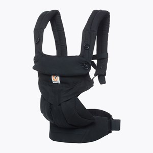 Image of Ergobaby 360 Baby Carrier Pure Black (3056095327)
